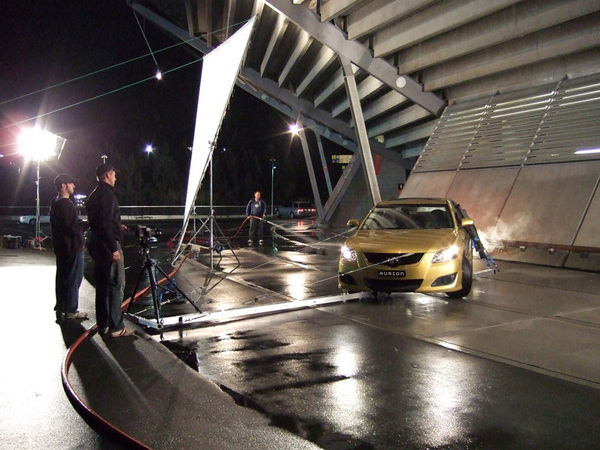 Toyota shoot : Behind the scenes : fiona watson production